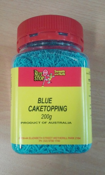 Blue Cake Decorating Sprinkles : Cake Sprinkles - Cake Decorating Sprinkles - Shindigs.com.au