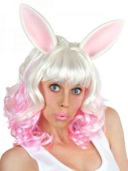 Pink Wig With Ears 63
