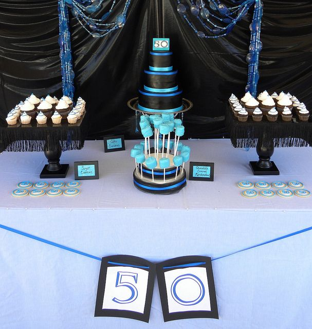 50th Birthday Party Supplies & Ideas