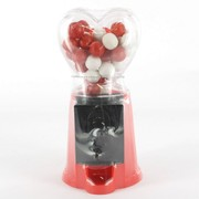 Heart Gum Ball Machine (Red & Black) Pk 1