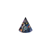 Space Blast Party Hats Pk 8