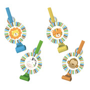 Sweet At One Boy Blowouts Pk 8 (Assorted Designs)
