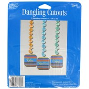 Decoration Dangling Cutouts Retirement Pk3