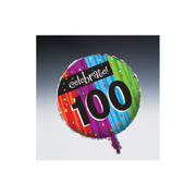 Milestone Celebrations 100 18in Foil Balloon Pk 1