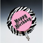 18in Foil Balloon Super Stylish Birthday Pk1