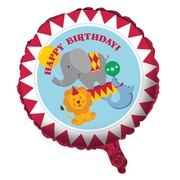 Circus Time 18in Foil Balloon Pk 1