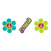 Groovy Girl Assorted Tattoos Pk 24 (3 Designs, 8 of each)