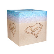 Beach Love Foldable Gift Card Box (12in.) Pk 1