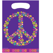 Hippie Loot Bags - Groovy Girl Party Pk 8