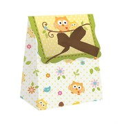 Owl Baby Shower Favour Bags - Happi Tree Pk12