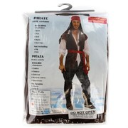 Costume Adult Cool Pirate Man Pk1