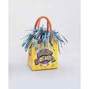 Birthday Blast Giftbag Balloon Weight Pk 6
