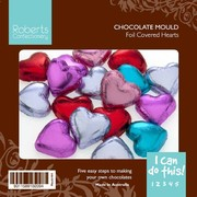 Heart Chocolate Mould with Recipe Card Pk1