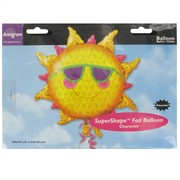 Balloon Foil Supershape Prismatic Sun Pk1