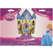 Disney Princess Party Balloon - Foil Supershape Princess Castle Pk1