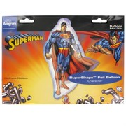 Superman Party Balloon - Foil Supershape Pk1