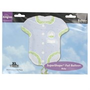 Baby Boy Onesie Foil Supershape Balloon Pk1