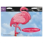 Balloon Foil Supershape Pink Flamingo Luau Pk1