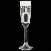 Champagne Glass Wedding Bubbles Pk 24