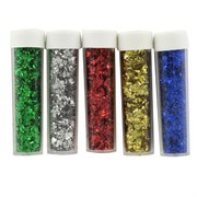 Assorted Coloured Glitter Pk 5