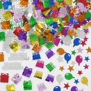 Assorted Birthday Confetti Pk 3 (28g Confetti in Total)