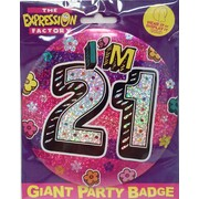 Pink Female Giant 21 Today Badge Pk 1