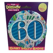 60 Today Large Badge Pk 1