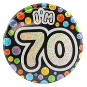 70 Today Large Blue Badge Pk 1