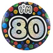 80 Today Large Badge Pk 1