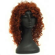 80's Party Wig - Glamour Ringlets Auburn Pk1