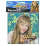 Hannah Montana Party Napkins Pk16