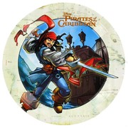 Pirates of the Caribbean Party Plates - Large 23cm Pk8
