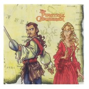 Pirates of the Caribbean Party Napkins Pk16