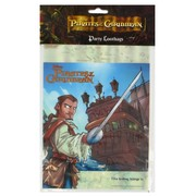 Pirates of the Caribbean Party Loot Bags Pk8
