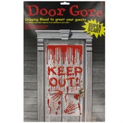 Door Gore Dripping Blood Super Scary Pk1