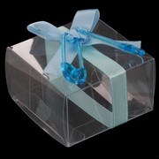 Baby Shower Favours - Blue Favour Boxes Pk6