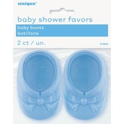 Baby Shower Favours - Blue Booties Pk2