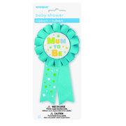 Blue Mum To Be Award Ribbon Pk 1