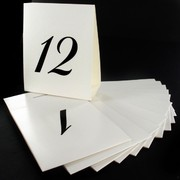 Number Table Place Cards 1 - 12  Pk12