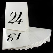 Number Table Place Cards 13 - 24  Pk12