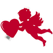 Red Cupid Cutout (43cm) Pk 1