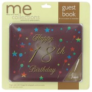 Keepsake Book 18 Birthday Burgundy Pk1