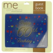 Keepsake Book 60 Birthday Blue Pk1