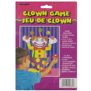 Party Game - Pin The Nose On The Clown Pk1