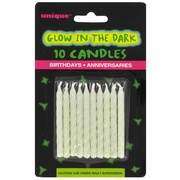 Candles Glow In The Dark Pk10