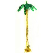 Luau Palm Tree Hanging Decoration Pk1