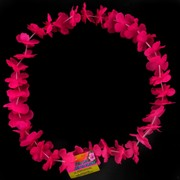 Hot Pink Flower Lei Pk1