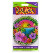 Balloon Foil 18in Luau Party Pk1