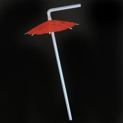 Straws Luau Umbrella Pk25