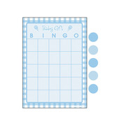 Baby Shower Bingo For 10 Players (Blue Dots) Pk 1